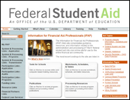 Information for Financial Aid Professionals